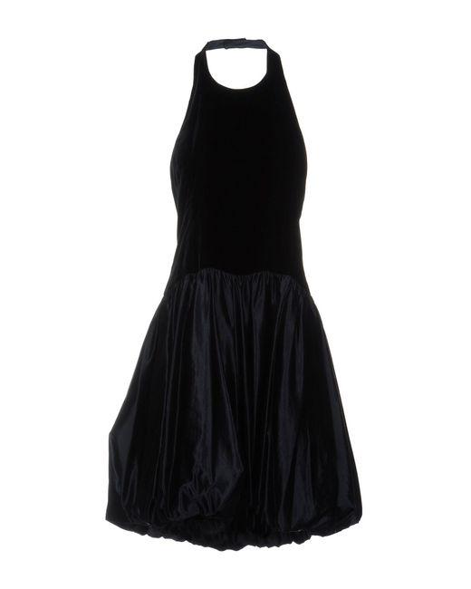 Ralph Lauren Black Label - Blue Knee-length Dresses - Lyst