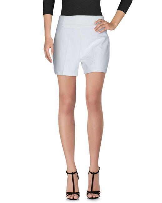 Met | White Shorts | Lyst