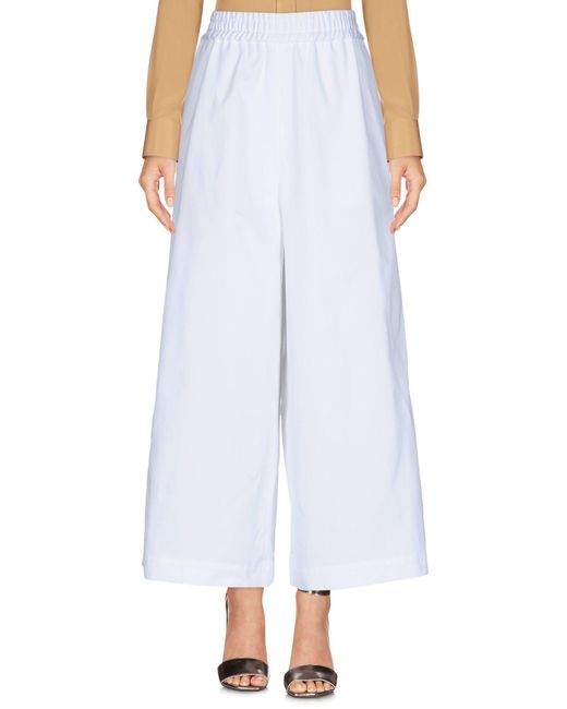 Ports 1961 - White Casual Pants - Lyst