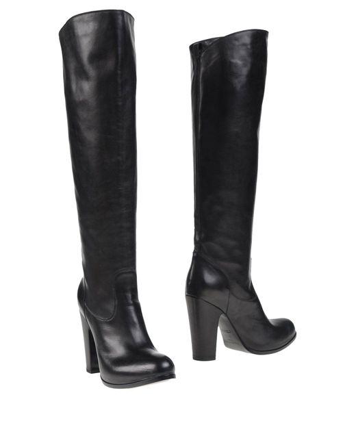 Sartore - Black Boots - Lyst