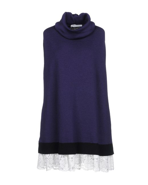 Philosophy Di Lorenzo Serafini - Purple Short Dresses - Lyst