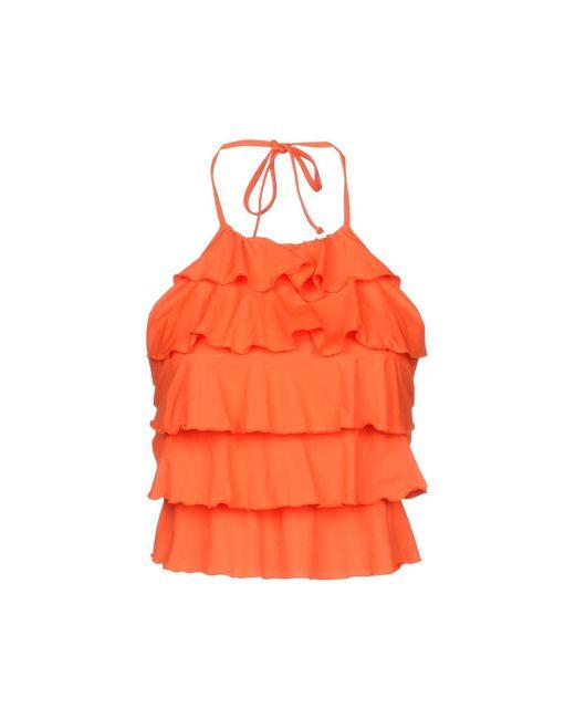 Fisico - Orange Top - Lyst