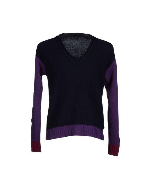 Brooksfield - Blue Sweater for Men - Lyst
