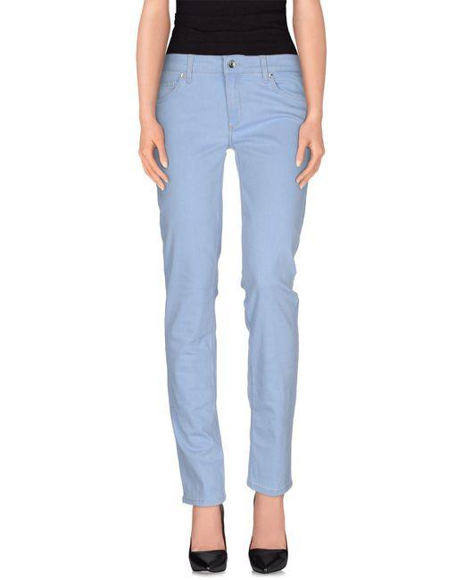 Liu Jo - Blue Denim Pants - Lyst