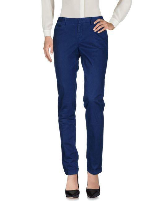 Pt0w - Blue Casual Trouser - Lyst