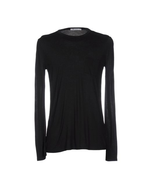 T By Alexander Wang - Black T-shirt for Men - Lyst