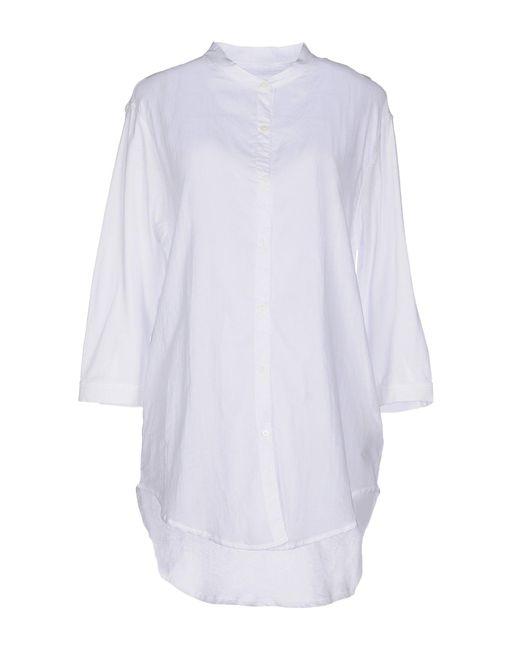 Majestic Filatures - White Shirts - Lyst