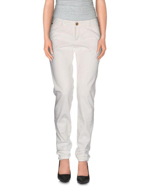 John Galliano | White Casual Trouser | Lyst