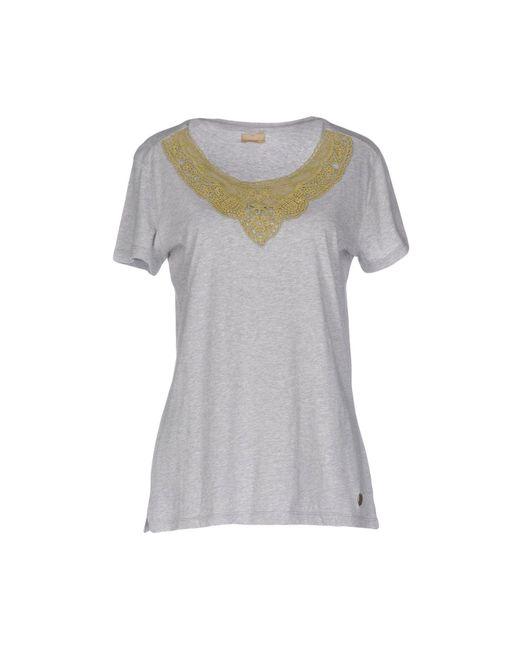 Napapijri | Gray T-shirt | Lyst