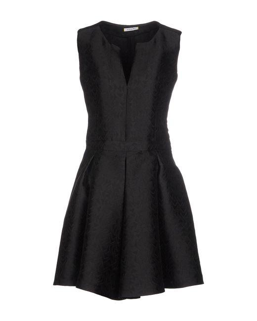 Iceberg - Black Short Dress - Lyst