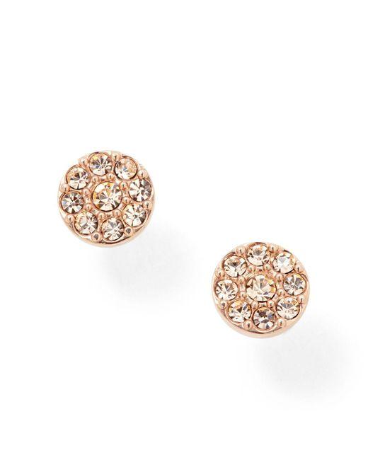 Fossil - Metallic Earrings - Lyst