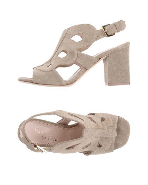 Maria Cristina | Gray Sandals | Lyst