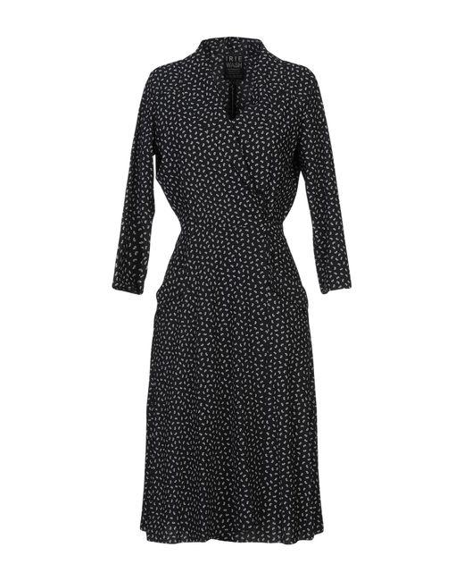 Wash Knee Lyst Irie Dress In Black Length KJcF3T1ul