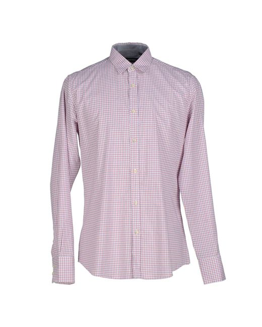Antony Morato - Purple Shirt for Men - Lyst