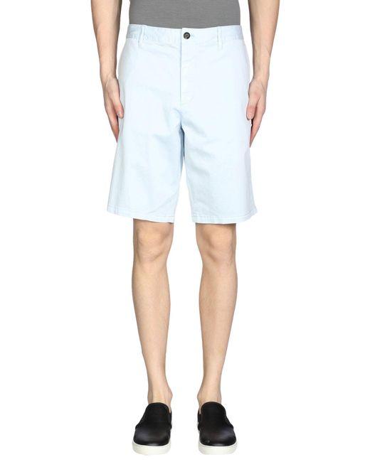 Armani Jeans - Blue Bermuda for Men - Lyst
