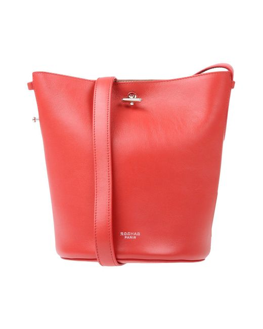 Rochas - Red Cross-body Bags - Lyst