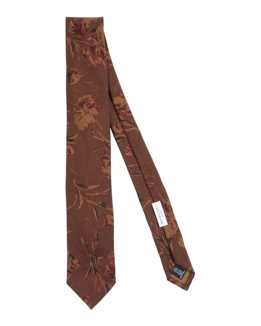 Boglioli - Brown Tie for Men - Lyst