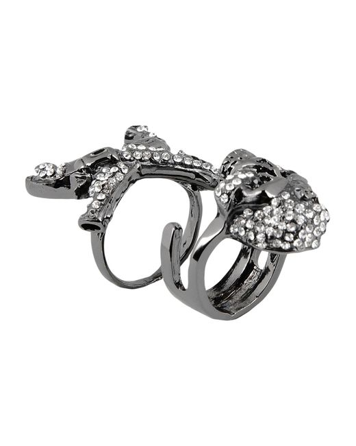 John Richmond | Metallic Ring | Lyst