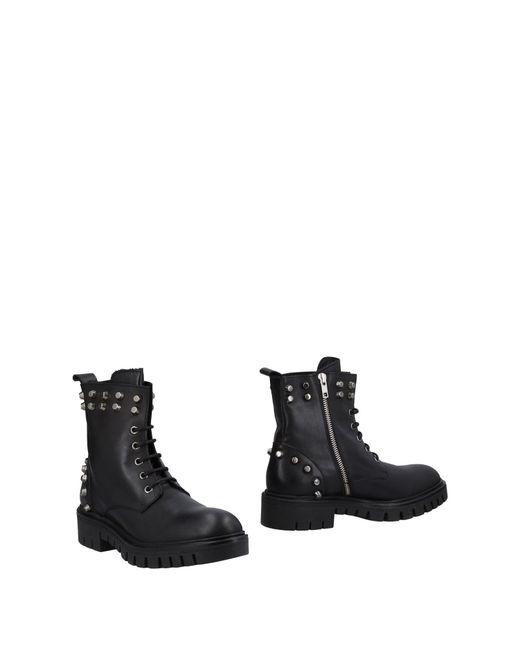 Loretta Pettinari - Black Ankle Boots - Lyst
