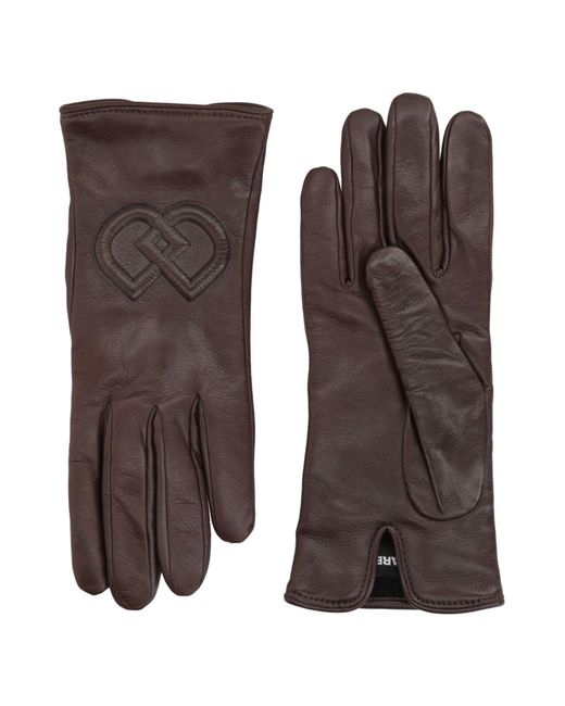 DSquared² - Brown Gloves - Lyst