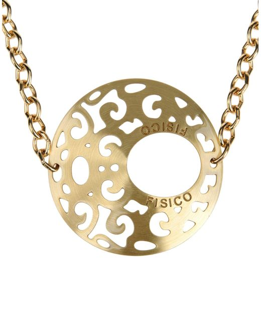 Fisico - Metallic Necklace - Lyst