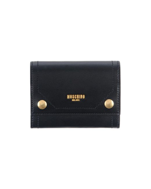 Moschino - Black Coin Purse - Lyst