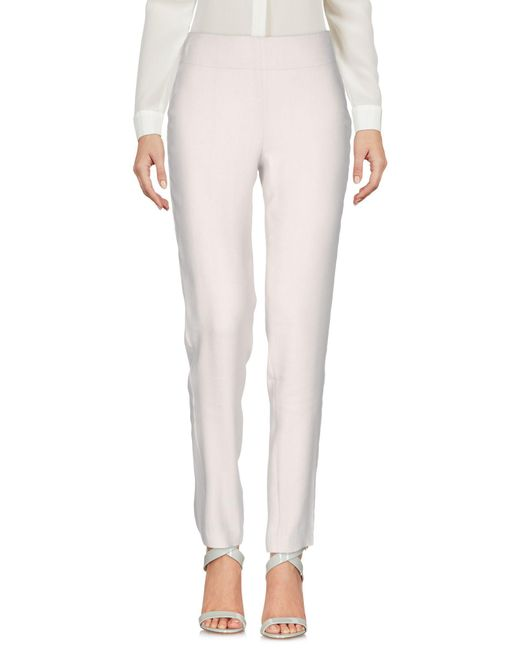 Donna Karan | Gray Casual Trouser | Lyst