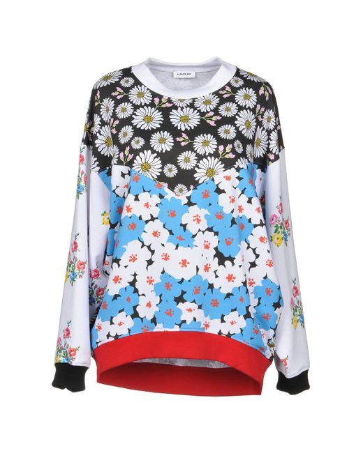 Au Jour Le Jour - White Sweatshirt - Lyst