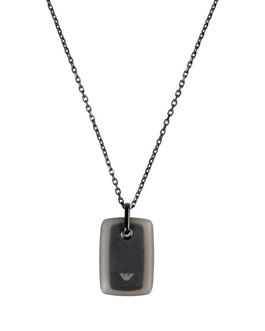 Emporio Armani | Metallic Necklaces for Men | Lyst