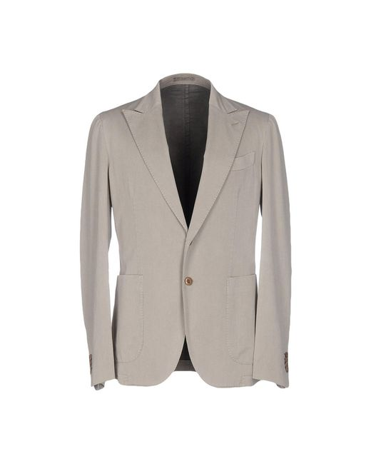 Boglioli - Gray Blazers for Men - Lyst
