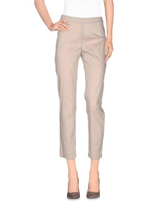 Niu | Natural Casual Trouser | Lyst