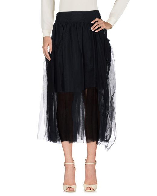 Simone Rocha - Black 3/4 Length Skirts - Lyst