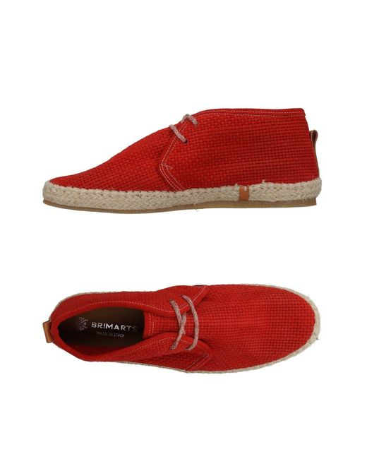 Brimarts - Red Espadrilles for Men - Lyst