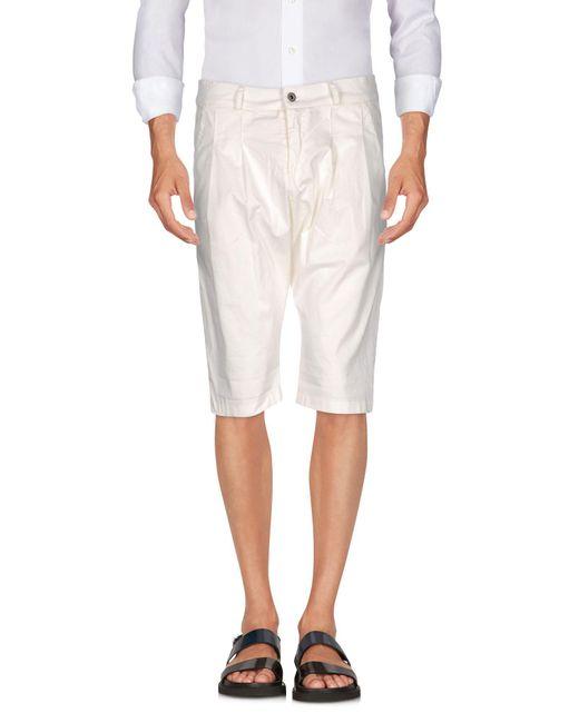 Imperial   White Bermuda Shorts for Men   Lyst
