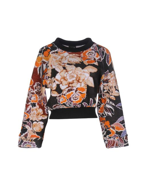Just Cavalli - Black Sweatshirts - Lyst