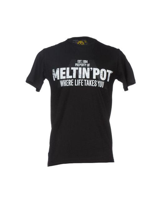 Meltin' Pot - Black T-shirts for Men - Lyst