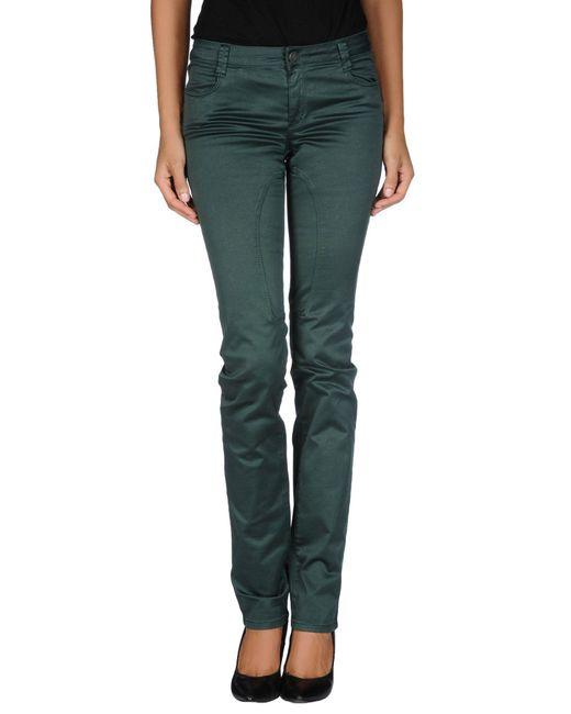 Siviglia - Green Casual Pants - Lyst