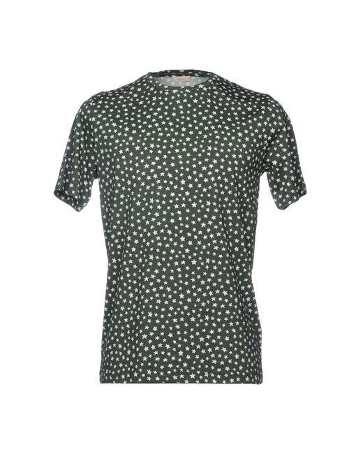 Altea - Green T-shirt for Men - Lyst