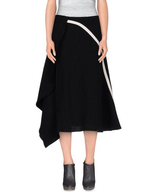 Marni - Black 3/4 Length Skirt - Lyst
