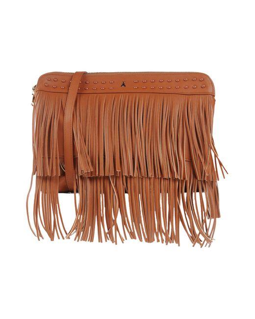 Patrizia Pepe - Brown Shoulder Bag - Lyst