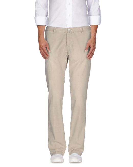 AT.P.CO - Natural Casual Trouser for Men - Lyst