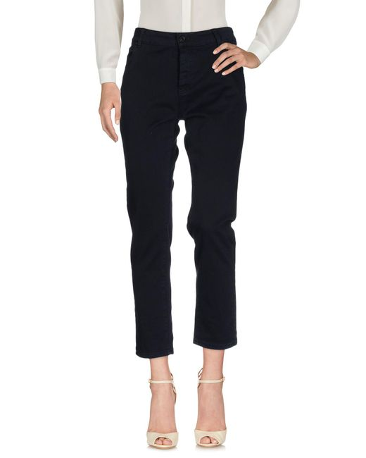 Ottod'Ame | Blue Casual Pants | Lyst