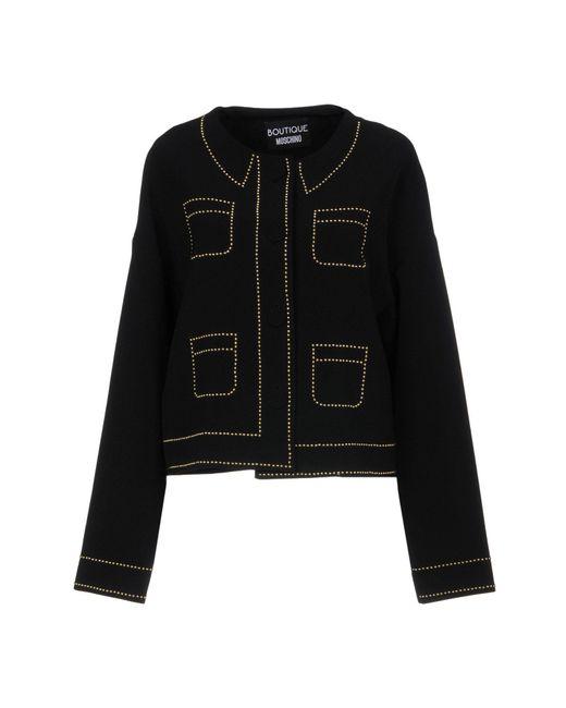 Boutique Moschino - Black Blazers - Lyst