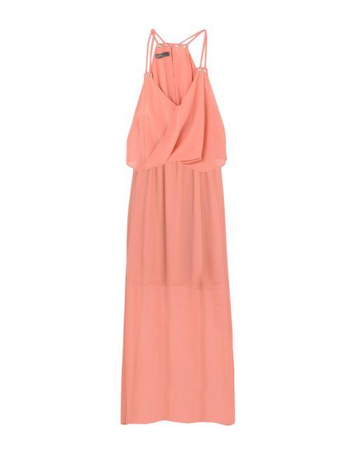Soallure - Pink Long Dress - Lyst