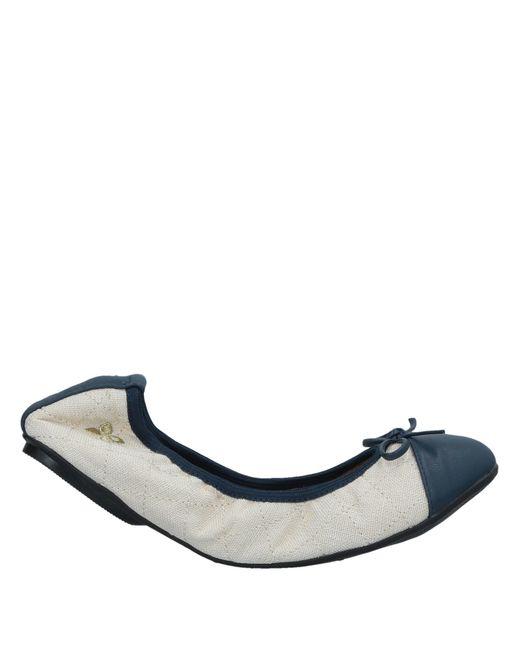 Butterfly Twists - Blue Ballet Flats - Lyst