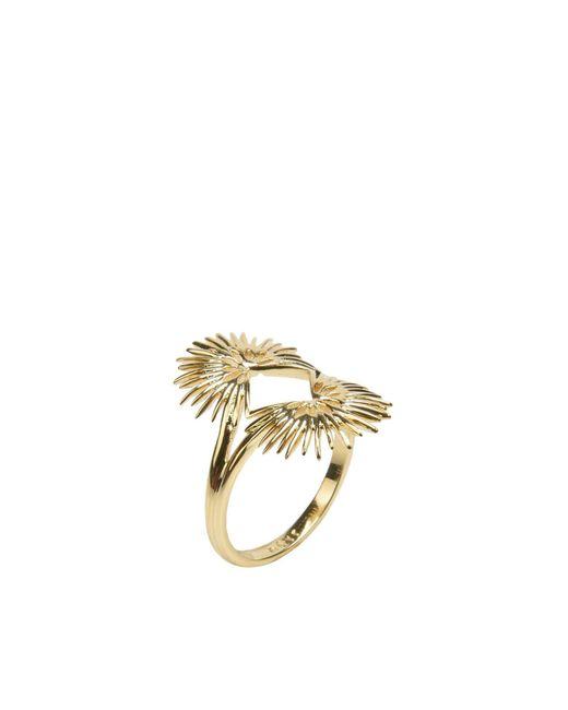 Noir Jewelry - Metallic Ring - Lyst