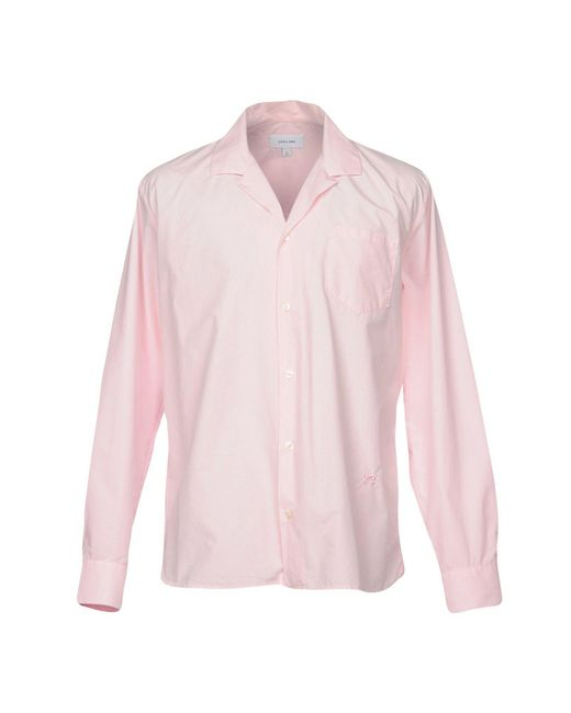 Soulland | Pink Shirt for Men | Lyst