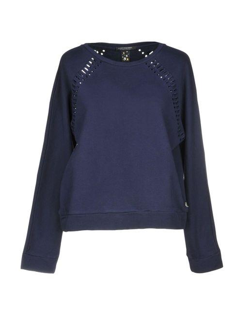 Maison Scotch - Blue Sweatshirt - Lyst