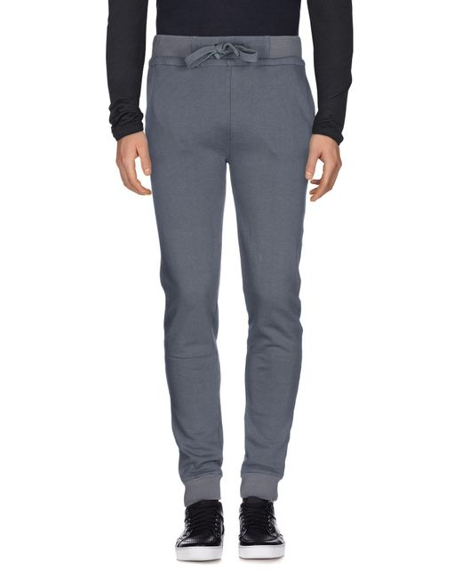Alpha Studio - Gray Casual Pants for Men - Lyst