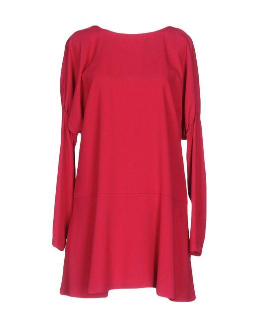 RED Valentino - Red Short Dress - Lyst